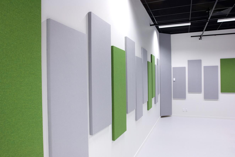 akustik kumaş kaplama panelleri