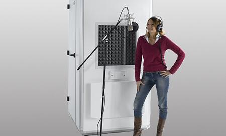 akustik ses yalıtım kabini